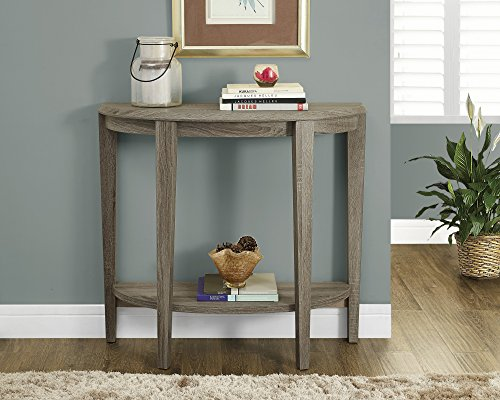 Cheap Dark Taupe Reclaimed-Look 36″L Console Accent Table