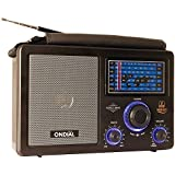 Battery and AC Powered LW, MV, FM, SW1 & 2 Air Band Radio