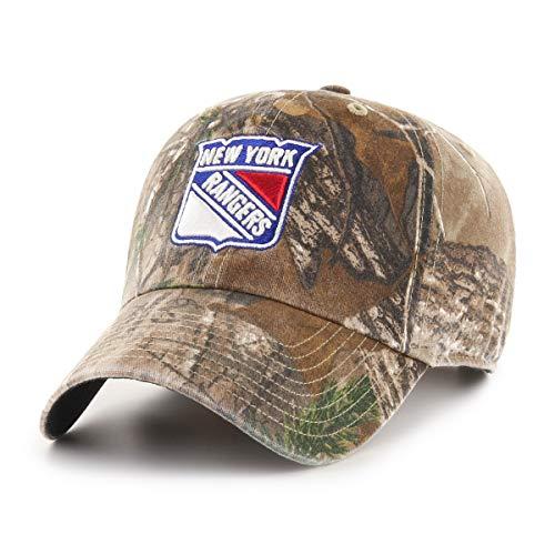 c1f0f05093e5b New York Rangers Camouflage Caps. NHL New York Rangers Realtree OTS  Challenger Adjustable Hat ...
