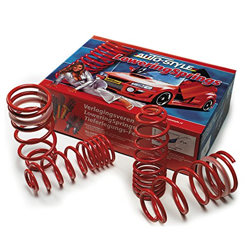 AutoStyle 15326/surbaissement Springs 35//30/mm Red