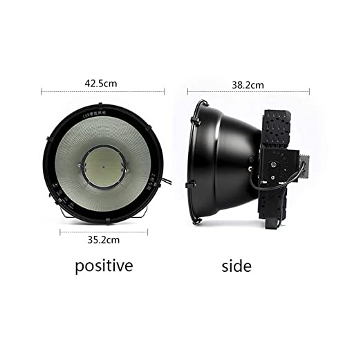 XXZJD Foco LED Proyector, Impermeable Al Aire Libre 400W-1000W ...