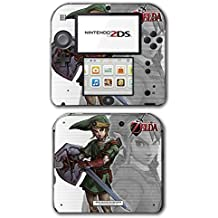 Legend of Zelda Link Twilight Princess Hero Video Game Vinyl Decal Skin Sticker Cover for Nintendo 2DS System Console