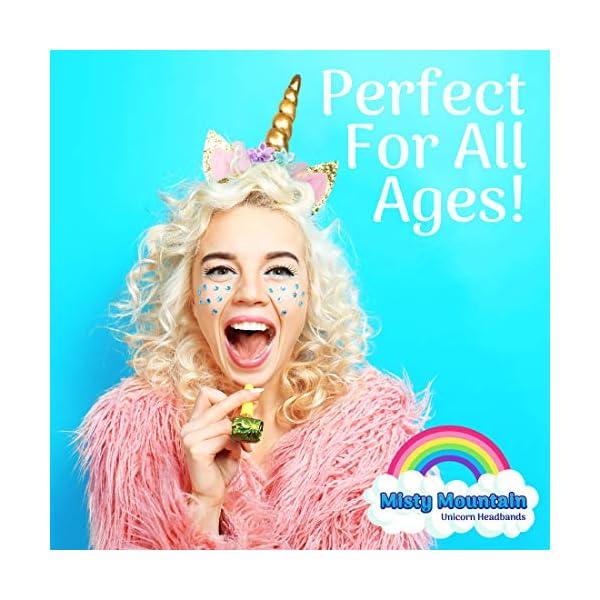 USA Toyz Unicorn Headband Party Favors - 6pk Unicorn Party Supplies, Unicorn Horn Headbands for Girls and Boys 7