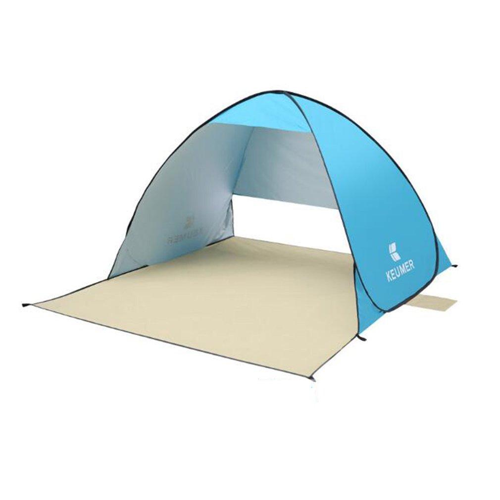 NINI Campingzelt Professional Beach, Park, Zelt Im Freien Zelt (Weiß und Blau)