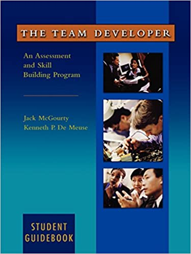 The team developer an assessment and skill building program student the team developer an assessment and skill building program student guidebook fandeluxe Image collections
