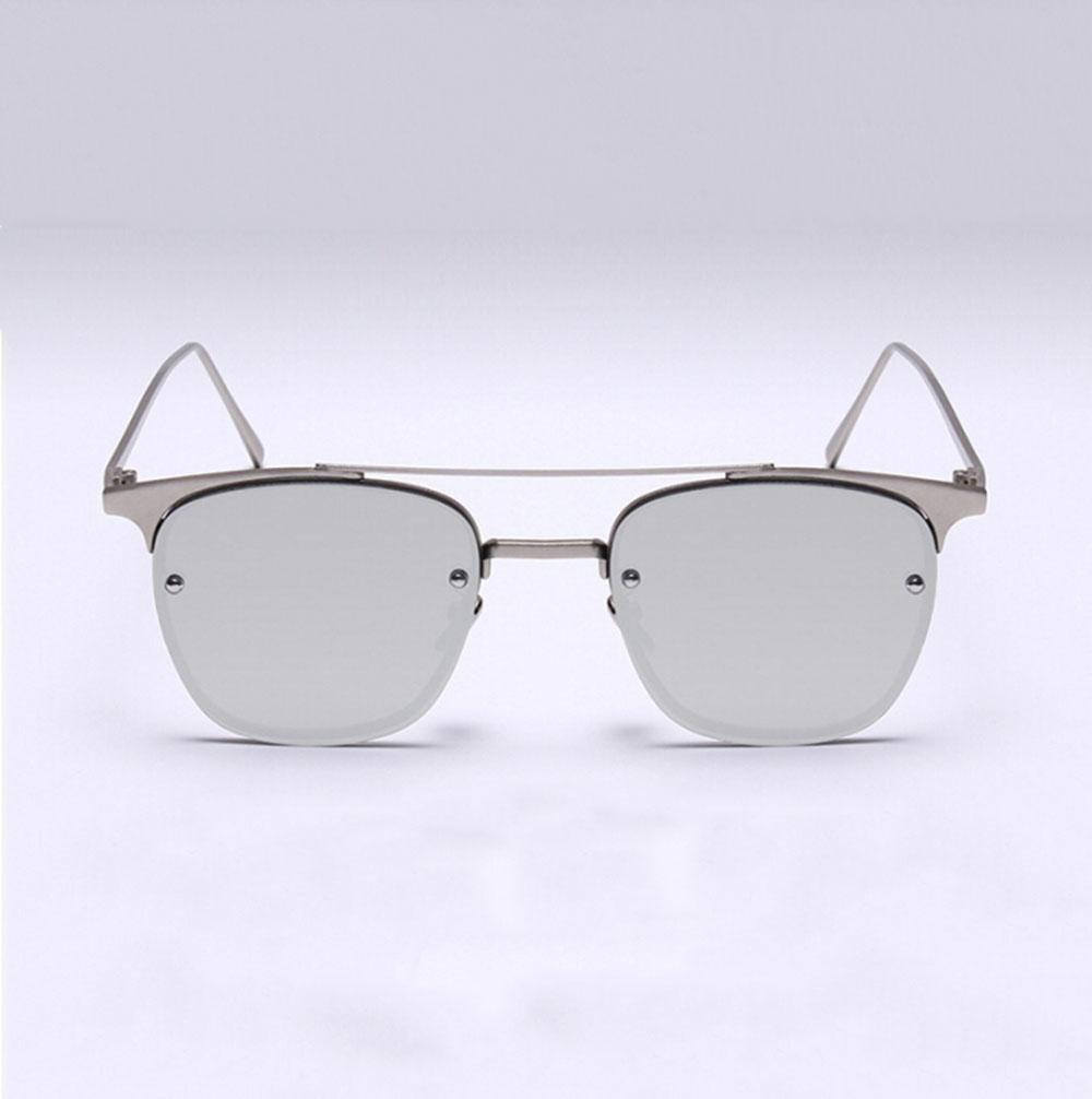 Z&YQ Gafas de sol coloridas Metal Oro Clásico Lentes de color Gafas aviador , e