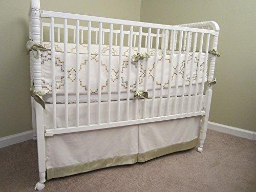 (Linen Baby Bedding Set)