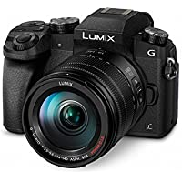Panasonic Lumix DMC-G70/DMC-G7 Mirrorless Micro Four Thirds Digital Camera with 14-140mm Lens (Black) - International Version (No Warranty)