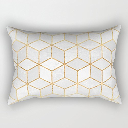 [Uloveme Geometry Pillow Shams ,best For Home,teens,couples,boys,drawing Room,kids Boys 12 X 20 Inches / 30 By 50 Cm(2] (Leo Johnson Costume)