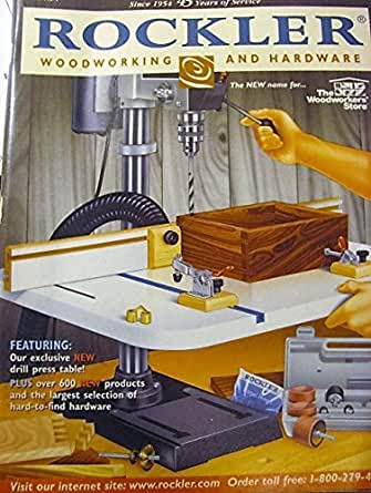 Rockler Woodworking And Hardware Catalog
