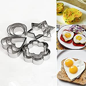 Stainless Steel Cookie Fondant Cake Mould Mold Sugarcraft Cutter Kitchen