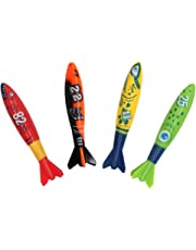Dive Sticks Diving Toys Torpedo Swimming Pool Toys Aid for Diving Water Toys Game Kids Age 5 6 7 8 Years Old