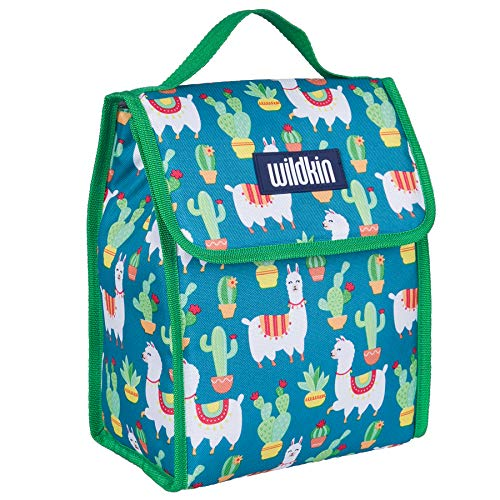 Wildkin Lunch Bag, Llamas and Cactus