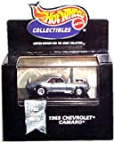 (US) Hot Wheels Collectibles - Limited Edition Cool Collectibles - 1969 Chevrolet Camaro (SS) - Chrome Body Color - Mounted in Collector's Display Case