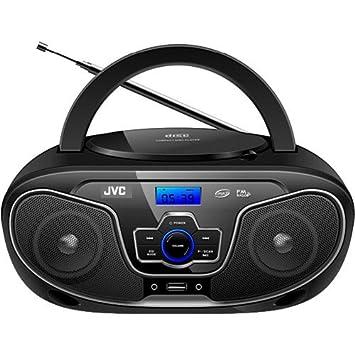 Review JVC RD-N327 Portable Bluetooth