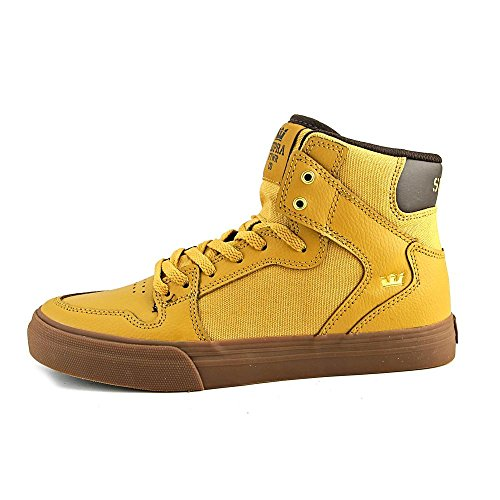III Gold Leather Gum Skytop Shoes Mens Amber Supra RcP6EOx