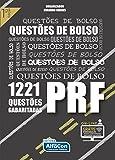 capa de Questões de Bolso PRF. 1221 Questões Gabritadas