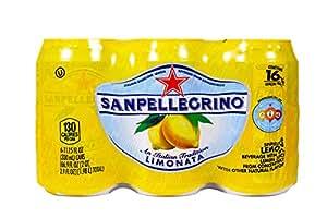 San Pellegrino Sparkling Beverage, Limonata, 11.15 oz, 6 ct