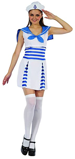 Generique - Disfraz Marinero Mujer S: Amazon.es: Juguetes y juegos