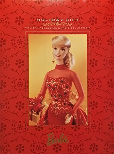 Holiday Gift Numbered Edition Porcelain Barbie Doll From The Porcelain Collection