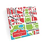 Set of 4 DC Map Coasters