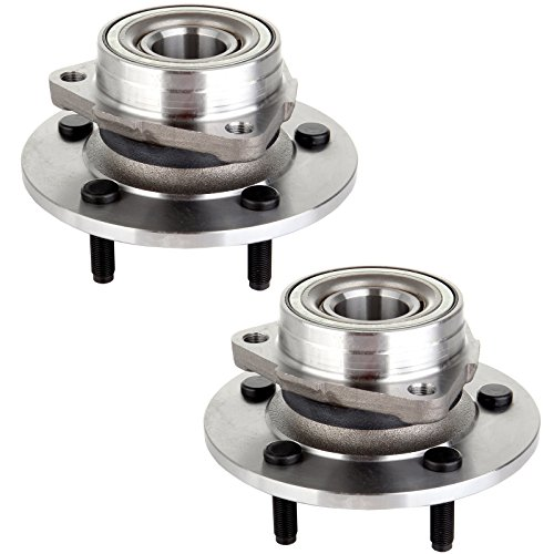 ECCPP Replacement for Pads Of 2 New Front Wheel Hub Bearing for 00-01 Dodge Ram 1500 4WD 515038 X 2