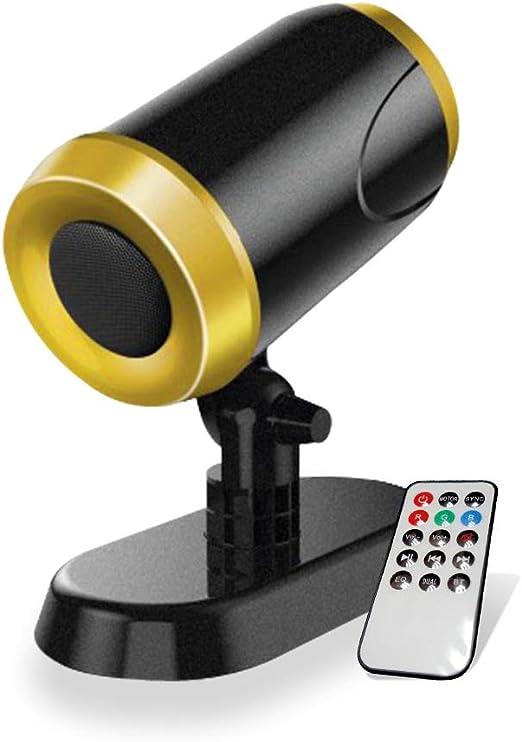 Passat altavoz Bluetooth 20 W Proyector de luz sincronizada RGB ...