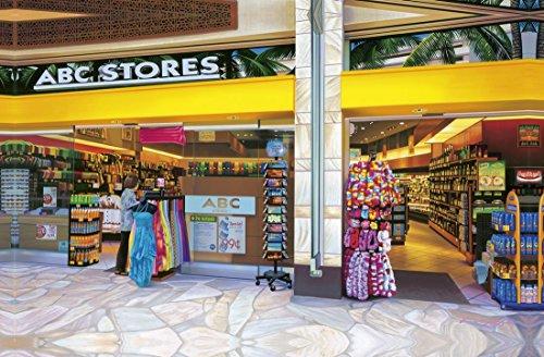 [해외]하와이안 잡화 인테리어 캔버스 栗山 義勝 씨 패널 그림 (ABC 스토어 3) 하와이 잡화 기념품 / Hawaiian Goods Interior Canvas Yoshikatsu Kuriyama Panel Picture (ABC Store3) Hawaii Goods Souvenir