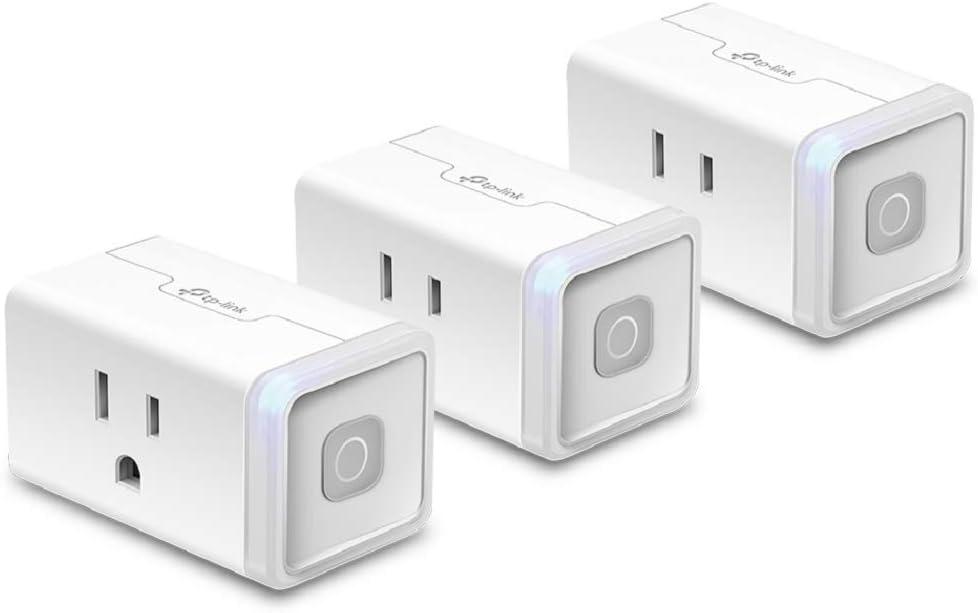 Kasa HS103P3, 3-Pack Wi-Fi Smart Plug $20.99 Coupon