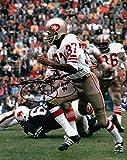 """Jimmy Johnson Signed Autographed 8X10 Photo """"HOF 94"""" 49ers Action Shot w/COA - Autographed NFL Photos"""