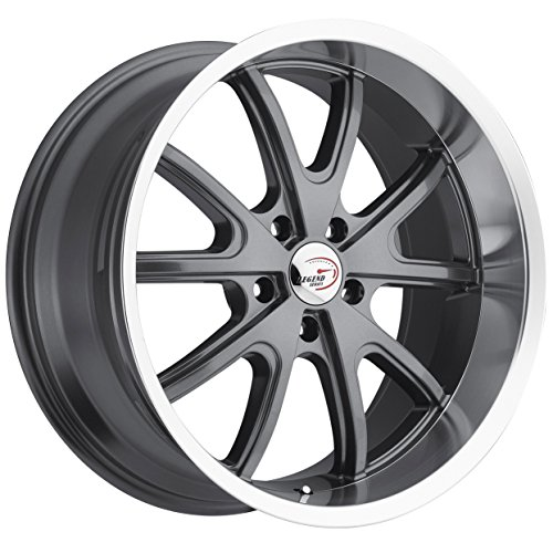 Vision Torque 143 Gun Metal Machined Lip Wheel - Machined Wheels Lip