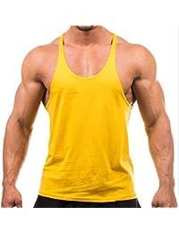 Undershirt Mens Bodybuilding Tank Top Stringer Tank Top Fitness Singlet Sleeveless T-Shirt Workout Indoor