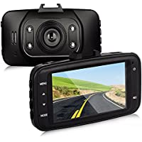 Btopllc On Dash Video Dash G-Sensor Car Video Audio Recording Vehicle Camera