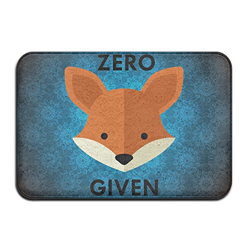 Zero Fox Given Doormats Entrance Rug Floor Mats Doormats Floor Mat 15.7