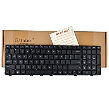 Eathtek New Laptop Keyboard for HP Probook 4530s 4535s 4730s Series Black US Layout, Compatible with part# 638179-001 MP-10M13US-930 6037B0056601 646300-001