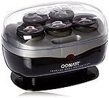 Conair Instant Heat Travel Hot Rollers; Black