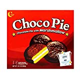Crown Choco Pie With Marshmallow 1case, 30gx12 초코파이