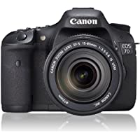 Canon EOS 7D 18 MP CMOS Digital SLR Camera with EF-S 18-135mm f/3.5-5.6 IS USM Lens - International Version At A Glance Review Image