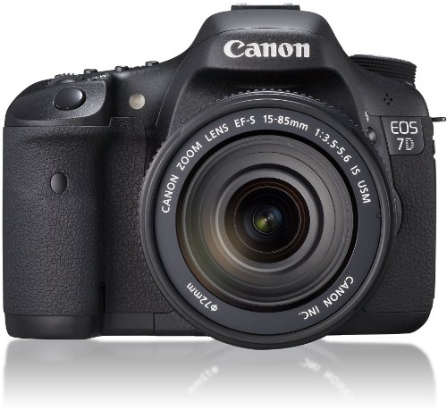 Canon EOS 7D 18 MP CMOS Digital SLR Camera with EF-S 18-135mm f/3.5-5.6 IS USM Lens - International Version (Best Iso For Canon 7d)
