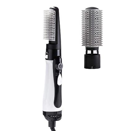 KOBWA secador de pelo y peinador de un paso, más nuevo 1600 W 3-en-1, generador iónico alisador ...