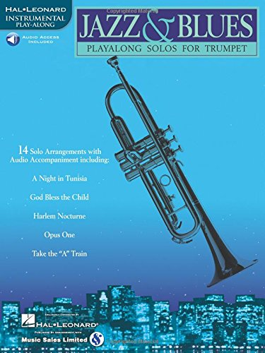 Jazz & Blues: Play-Along Solos for Trumpet
