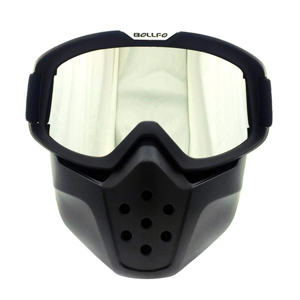 Gafas de Ciclismo al Aire Libre Gafas M/áscara Retro Gafas de Moto Retro Gafas Espejo a Prueba de Viento Protecci/ón Ocular Scrambling Motorcycle Racing Car Supplies