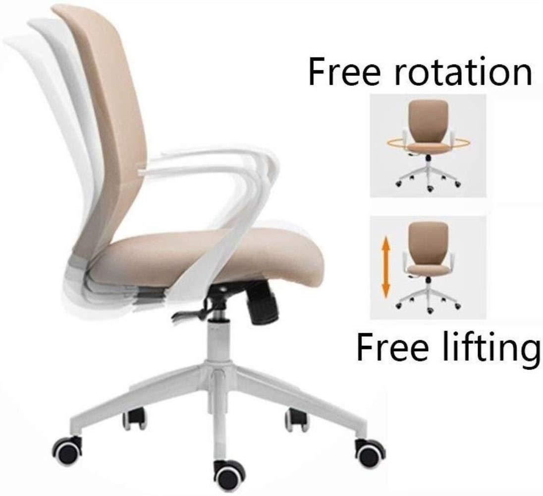 Barstolar Xiuyun kontorsstol spelstol, ergonomisk verkställande konferensstol hem dator skrivbord stol med fotring höjd justerbar svängbar stol style4 stil2