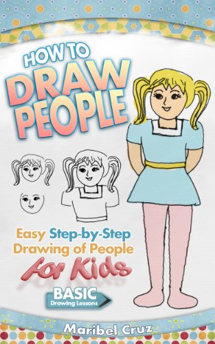 How To Draw People Easy Step By Step Drawing Of People For Kids Learn How To Draw People