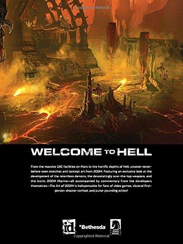 Amazon Com Art Of Doom 9781616559342 Id Software Bethesda