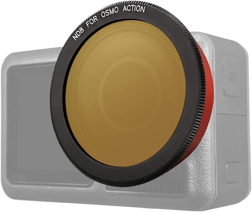 CAOMING ND8 Lens Filter for DJI Osmo Action Durable