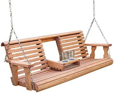 Porchgate Amish Heavy Duty 800 Lb - The Most Functional Porch Swing