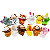 12PCS A SET Finger Puppet/Dolls/Toys Story-telling Props/Tools Toy Model Babies/Kids/Children Toys,Chinese zodiac