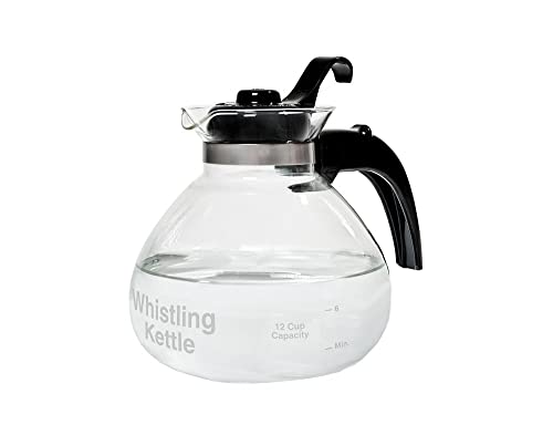 Café Brew Collection Glass Stovetop Kettle