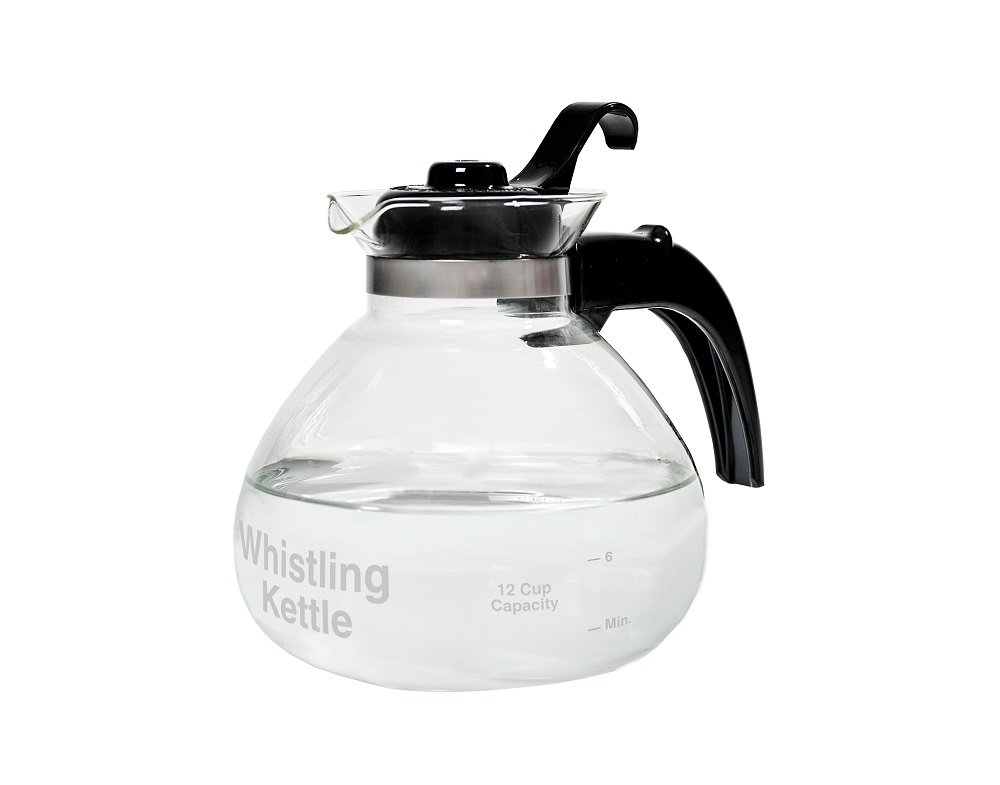 Unique 12-cup Stovetop Whistling Tea Kettle Has An Innovative Design - Designed To Resist Thermal Shock For Years Of Quality Use.